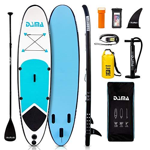 DAMA Aufblasbares Stand Up Paddle Boards (10...