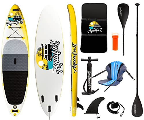 AQUALUST 10'6' SUP Board Stand Up Paddle...