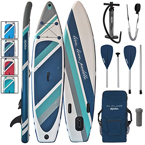 ALPIDEX Stand Up Paddle Set SUP 320 x 76 x 15...