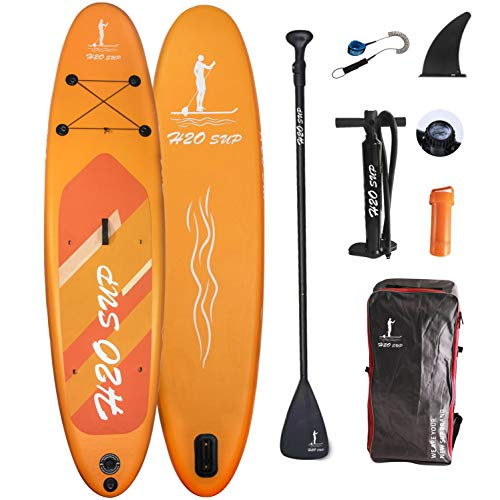 H2OSUP Aufblasbares Stand Up Paddle Board, 15...
