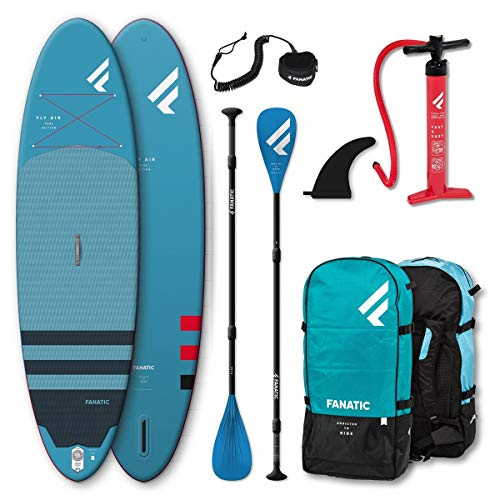 Fanatic SUP Set Fly Air SUP Board, Pure...
