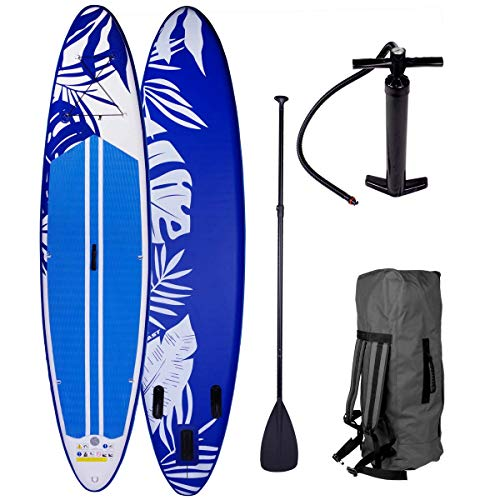 SUP Board Stand up Paddle Fusion Blau...