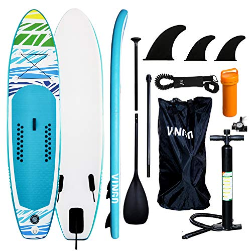 VINGO SUP Aufblasbares Stand up Paddle Board...
